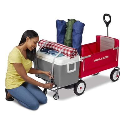6. Radio Flyer 3-In-1 Tailgater Wagon