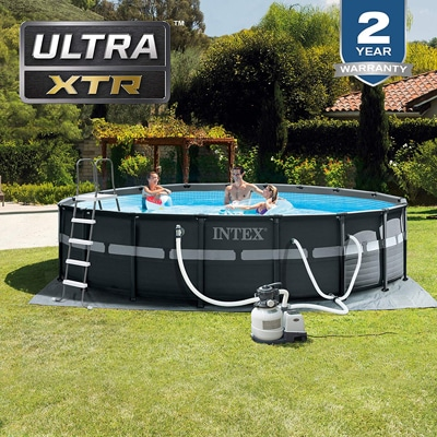 2. Intex 18ft X 52in Ultra XTR Pool Set