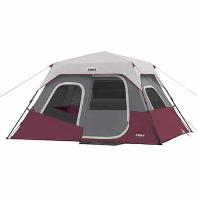 .8 CORE 6 Person Instant Cabin Tent