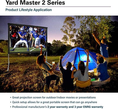 1. Elite Screens Yard Master 2 120-Inch Projector Screen with Stand