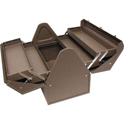 3. Homak Industrial Cantilever Steel Portable Tool Box